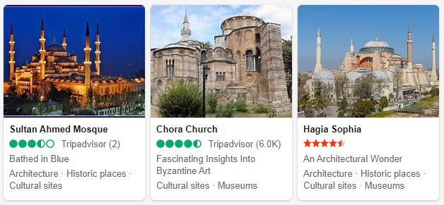 Istanbul Attractions 2