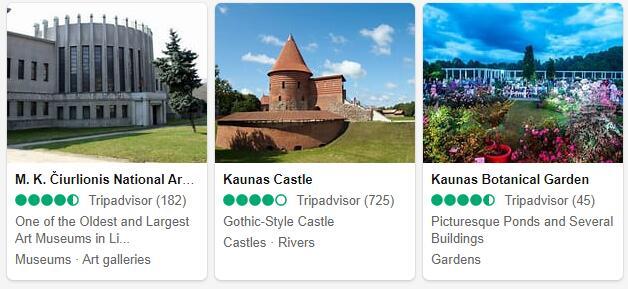 Kaunas Attractions