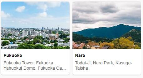 Top Attractions in Japan