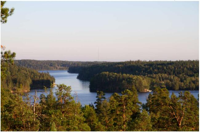 Espoo, located right in the armpit of Helsinki