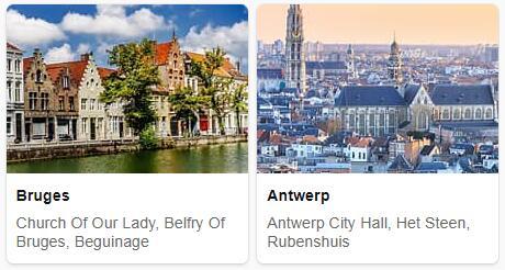 Top Attractions in Belgium