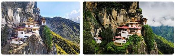 Top Attractions in Bhutan