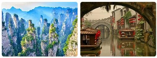 Top Attractions in China