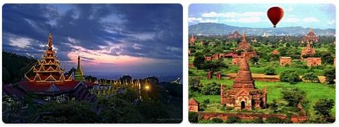 Top Attractions in Myanmar