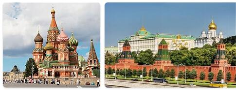 Top Attractions in Russia